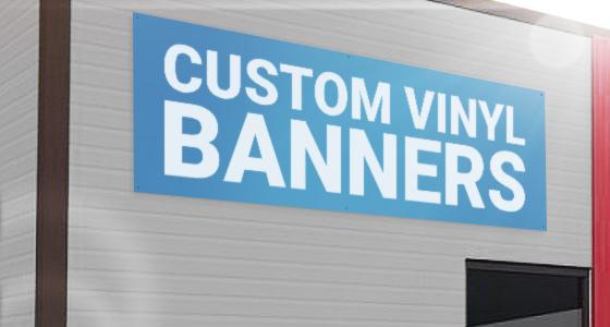 Custom Vinyl Banner Printing Service In NYC  New Jersey - Custom vinyl sign