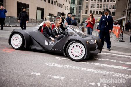 Local Motors Strati 3D Printed Car 01