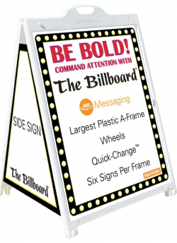 Billboard 4-sided Sidewalk Signs