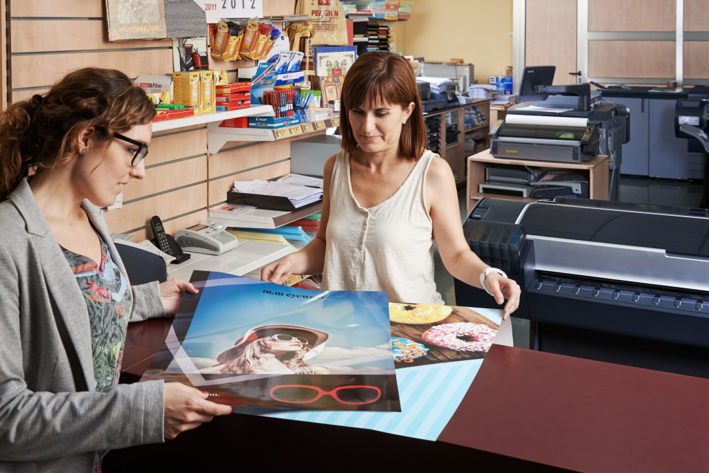 print shop worker